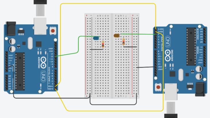Arduino初心者編:シリアル通信によるArduino間のデータ送受信