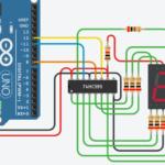 Arduino初心者編:7セグメントLEDとLEDマトリクスをICで制御する