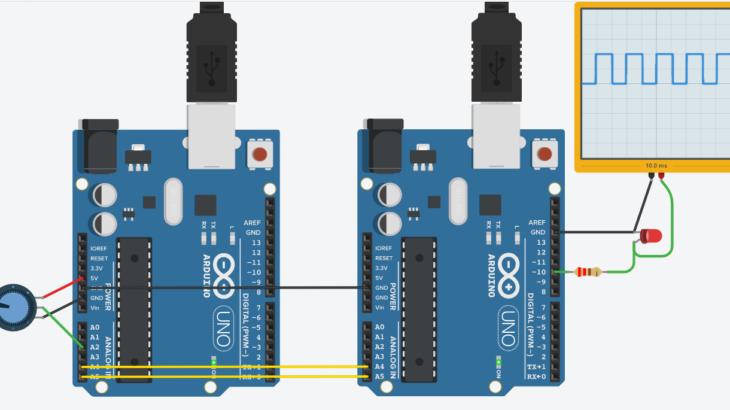 Arduino初心者編:I2C通信によるArduino間のデータ送受信